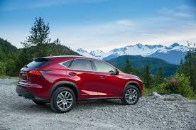 red lexus lexus nx 300h suv red color fire fall base fire fall base
