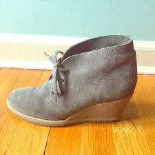 womens boots j crew 73 j crew boots j crew factory suede lace up wedge boots