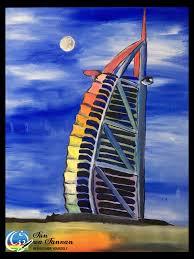 let u0027s paint burj al arab fun wa fannan