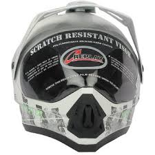 monster motocross helmets replay dash decor monster motocross helmet with clear visor buy