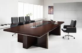 dark wood conference table cool conference room table engineered wood construction rectangle