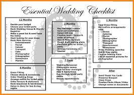 wedding planning list 12 wedding planning checklist printable emails sle