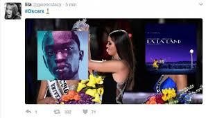 Memes De Los Oscars - oscar 2017 los memes tras garrafal error al anunciar mejor