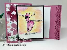 happy monday beautiful you try a z fold card diy sting