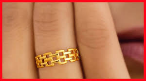 fingers rings design images Gold finger rings designs for females jpg