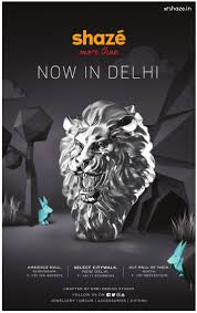 shaze now in delhi crafted by erdi design studio ad advert gallery
