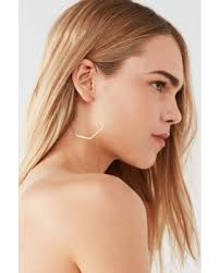 one earring tis the season for savings on cloverpost byte geo hoop earring