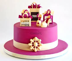 pink color combination birthday cakes images appealing designer birthday cakes unique