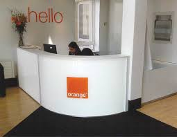 Simple Reception Desk Light Clarke Rendall Reception Desks Reception Space