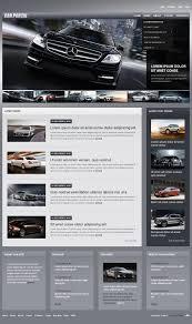 website design 42995 cars club portal custom website design cars