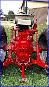 ih farmall 806 gas tractor new paint oh u0027d motor no reserve