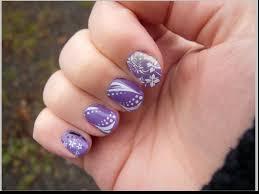 nail art design tutorial easy hand painted tear drop gems youtube