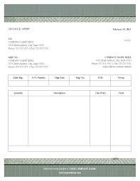 blank invoice template free plain text blank invoice tem saneme