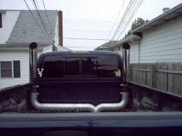 dodge ram smoke stacks 4 dual chrome truck smoke stacks kit grand rock ford chevy