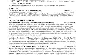 resume administrative resume skills awesome office assistant