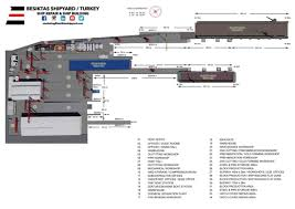 Workshop Floor Plan by Besiktas Shipyard