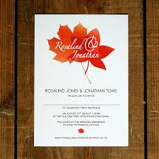 autumn wedding invitations autumn wedding invitations wedding corners