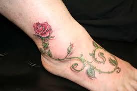 rose vine tattoo ideas tattoo love
