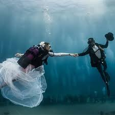 underwater wedding underwater wedding in monaco brides