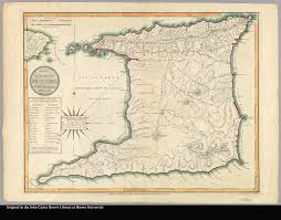 Map Of Trinidad Plan Of The Isle Of Trinidad From Actual Surveys Made In The Year