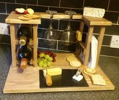 wine and cheese gifts wine rack cheese board wedding gift kitchen storage