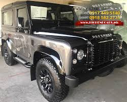 2017 land rover defender 90 highendcars ph