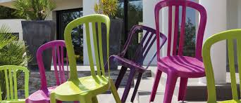chaises grosfillex chaise de jardin miami bistrot grosfillex
