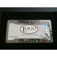 lsu alumni license plate state chrome plastic license plate frame oregon