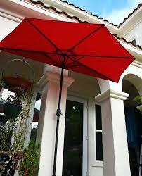 Half Umbrella For Patio Ideas Half Umbrella Patio And 12 Cantilever Patio Umbrella Costco