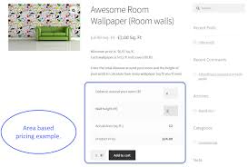 woocommerce measurement price calculator plugin by extendons