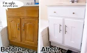 Bathroom Furniture Doors The Before Looks Like My Bathroom Cabinets And They Are