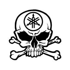 subaru emblem drawing yamaha racing skull crossbones vinyl decal sticker adhesive