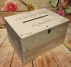 wish box wedding wedding guests wish post box wooden box with slot wedding cards