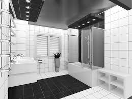 Black And White Bathroom Tile Designs 15 Black And White Bathroom Ideas Design Pictures Designing Idea