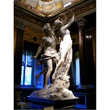 Angels Home Decor by Apollo Greek God With Daphne Myth Statue Love Story Statue