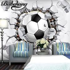 deco chambre foot achetez en gros mur de football papier en ligne à des grossistes