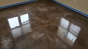 liquid marble epoxy flooring is a great alternative to stain and