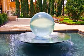 Glass Globes For Garden Sphere Fountains U0026 Water Features For Your Garden Allison Armour