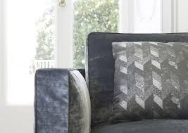 4 Cushion Sofa by Contemporary Sofa Velvet Linen 4 Seater Danton Berto Salotti