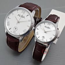 Jam Tangan Alba Jogja jam tangan alba tanggal bulat silverwhite dunianet