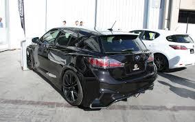 lexus ct200h rear lexus ct 200h sema 2011 motor trend