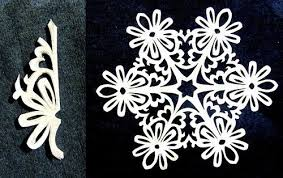 the diy paper snowflakes with pattern the diy