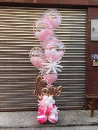 balloon delivery manhattan can add flowers and greenery inside clear balloons balloon
