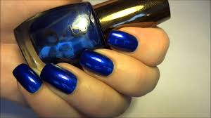 born pretty store navy blue shiny nail art polish enamel gel color