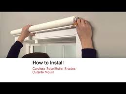 How To Measure A Roller Blind How To Install Blinds And Shades Bali Blinds And Shades