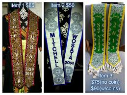 personalized graduation stoles pre order custom graduation stole by sevhmoobthao on etsy