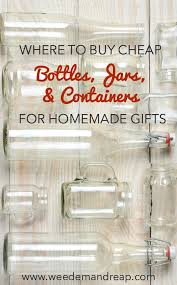 where to buy cheap containers for homemade gifts homemade ems