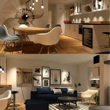 design toilette open plan living area with kitchen bedroom and toilette in