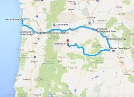 Burns Oregon Map The Ultimate Terrifying Northern Oregon Road Trip