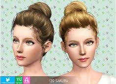 sims 3 hair custom content sims 3 hair hairstyle female sims 3 custom content pinterest